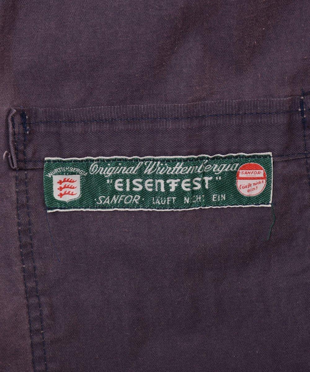 German herringbone twill work jacket | ドイツ製ヘリンボーンツイルワークジャケット サムネイル