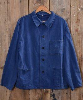 古着German herringbone twill work jacket   ドイツ製ヘリンボーンツイルワークジャケット 古着のネット通販 古着屋グレープフルーツムーン
