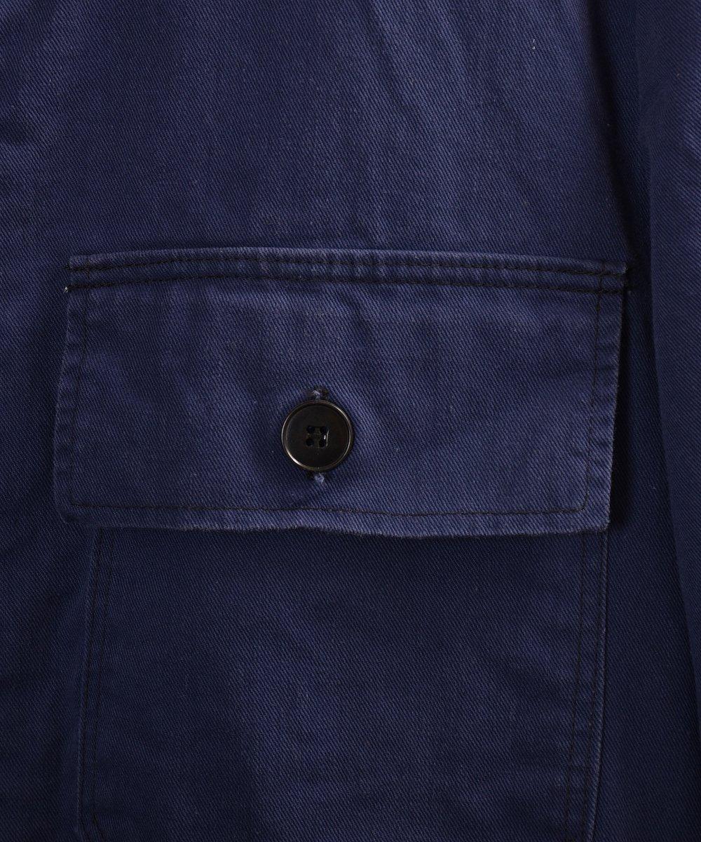German cotton twill work jacket | ドイツ製コットンツイル ユーロワークジャケットサムネイル