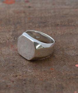 古着Silver Ring 15mm Octagon Signet | オクトゴン シルバーシグネイトリング 古着のネット通販 古着屋グレープフルーツムーン