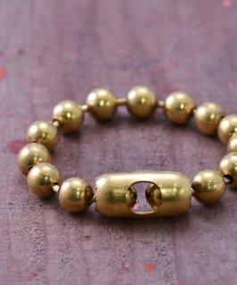 古着10mm Ball Chain Bracelet | 真鍮製 10mmボールチェーンブレスレット 古着のネット通販 古着屋グレープフルーツムーン