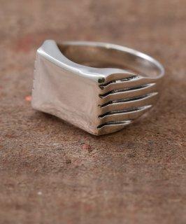 古着Silver Ring Side Line | サイドラインデザイン シルバーリング 古着のネット通販 古着屋グレープフルーツムーン
