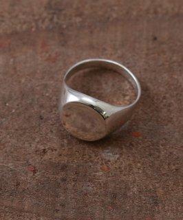 古着Silver Ring Plain Head Round | ラウンドトップデザイン シルバーリング 古着のネット通販 古着屋グレープフルーツムーン