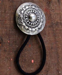 古着Silver Concho Native Stamp HG | ネイティブアメリカン柄デザイン シルバーコンチョ 古着のネット通販 古着屋グレープフルーツムーン