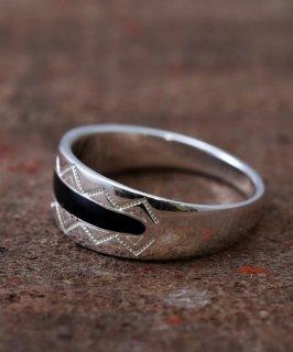 古着Silver Ring Creeeveasse native Pattern | 民族柄シルバーリング 古着のネット通販 古着屋グレープフルーツムーン