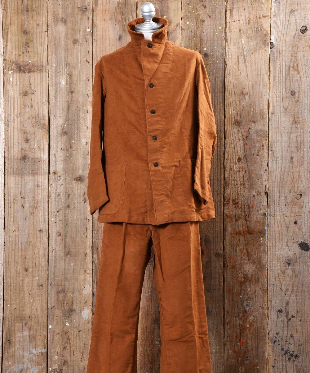 古着 60's~70's  Italian Army Hospital Jacket & Pants|60年〜70年代イタリア軍ホスピタルセットアップ 古着 ネット 通販 古着屋グレープフルーツムーン