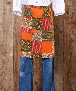 古着Patchwork Print Apron |パッチワークプリントエプロン 古着のネット通販 古着屋グレープフルーツムーン
