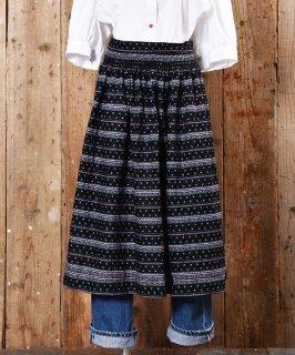 古着Shirring designed European Apron|ギャザー入りヨーロピアンエプロン 古着のネット通販 古着屋グレープフルーツムーン