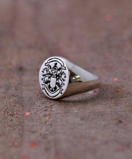 古着Silver Ring Family Crest | 家紋モチーフシルバーリング 古着のネット通販 古着屋グレープフルーツムーン