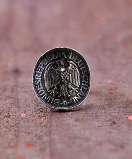 古着Silver Ring Deutschland Coin | ドイツコインモチーフシルバーリング 古着のネット通販 古着屋グレープフルーツムーン