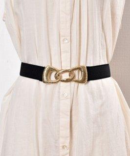古着3 Square Gom Belt | デザインゴムベルト 古着のネット通販 古着屋グレープフルーツムーン