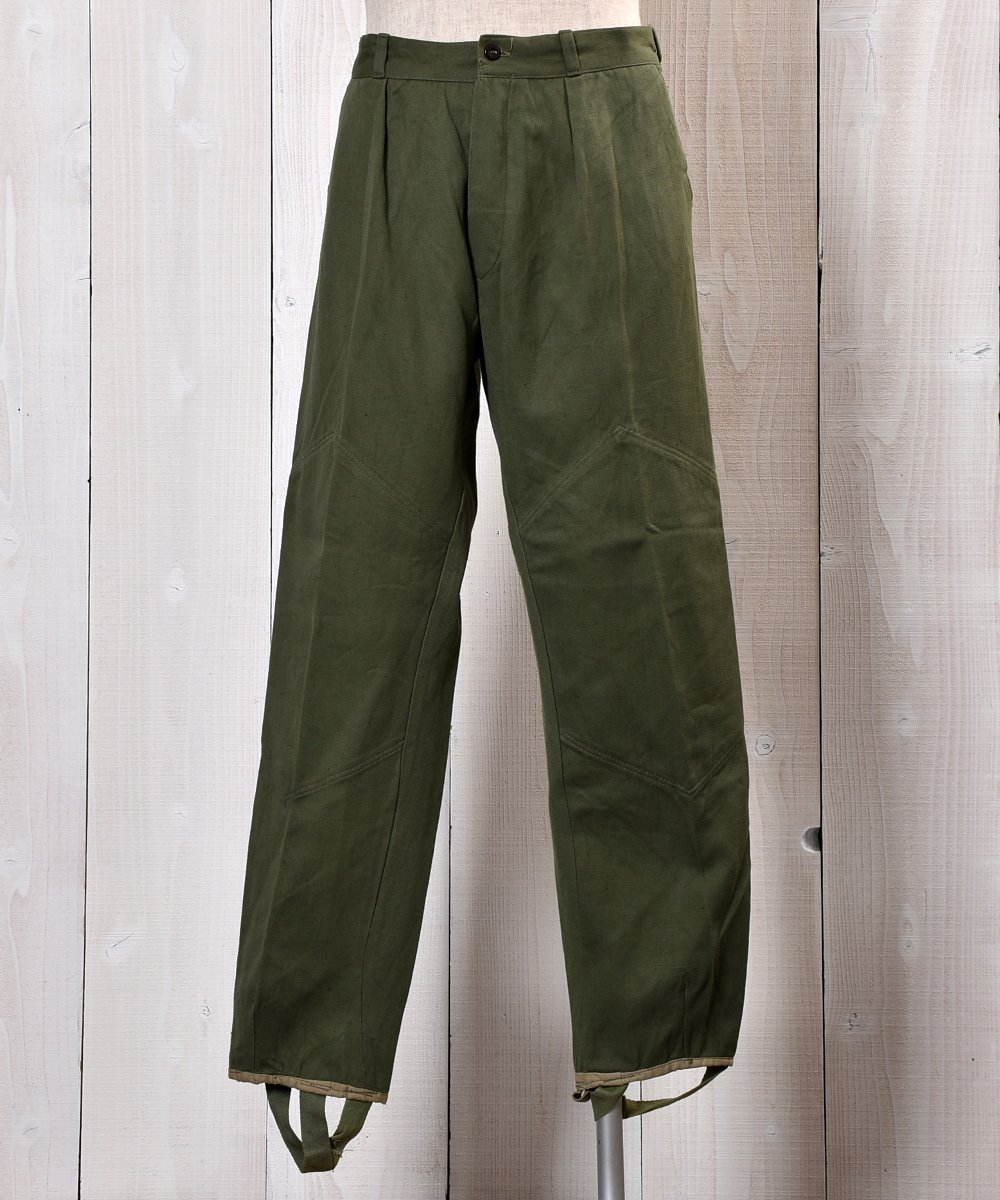 古着 EURO Military Bulgarian Army Military Pants W33 ユーロミリタリー ブルガリア軍 ミリタリーパンツ 33インチ 古着 ネット 通販 古着屋グレープフルーツムーン