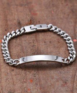 古着ID Plate Bracelet L | IDプレートブレスレット Lサイズ 古着のネット通販 古着屋グレープフルーツムーン