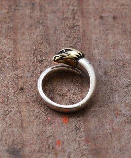 古着Silver Ring Eagle Head |イーグルヘッドモチーフシルバーリング 古着のネット通販 古着屋グレープフルーツムーン