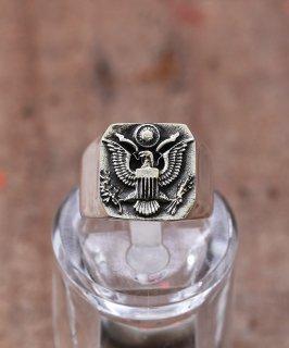 古着Silver Ring  US Emblems | アメリカ国章モチーフ シルバーリング 古着のネット通販 古着屋グレープフルーツムーン