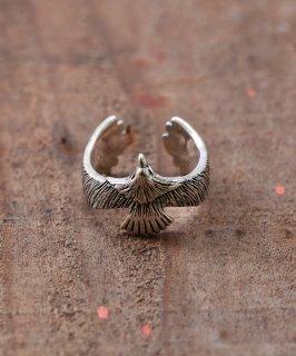古着Silver Ring  Realistic Eagle | リアルイーグルモチーフ シルバーリング 古着のネット通販 古着屋グレープフルーツムーン