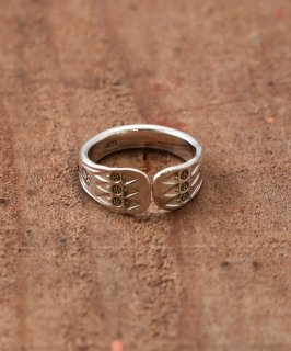 古着Silver Ring Native Spatula | ネイティブ紋様 ヘラ型 シルバーリング 古着のネット通販 古着屋グレープフルーツムーン