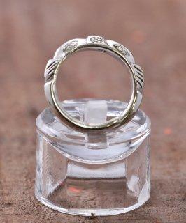 古着Silver Ring Mountain Cut 3rd Eye | 山型カット 3rdアイ デザイン シルバーリング 古着のネット通販 古着屋グレープフルーツムーン