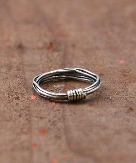 古着Silver Ring Bundled Cords | バンドルコード デザイン シルバーリング 古着のネット通販 古着屋グレープフルーツムーン