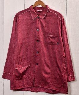 古着Made in Germany Small Mark Pattern Pajamas Shirt |ドイツ製 小紋柄 パジャマシャツ 古着のネット通販 古着屋グレープフルーツムーン
