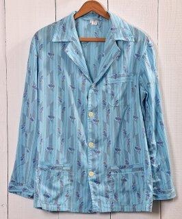 古着Multi Pattern Pajamas Shirt |総柄パジャマシャツ | サックス系 古着のネット通販 古着屋グレープフルーツムーン