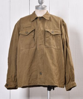 古着Czech Military Work Jacket | チェコ軍 ミリタリー ワークジャケット | ヨーロッパミリタリー 古着のネット通販 古着屋グレープフルーツムーン