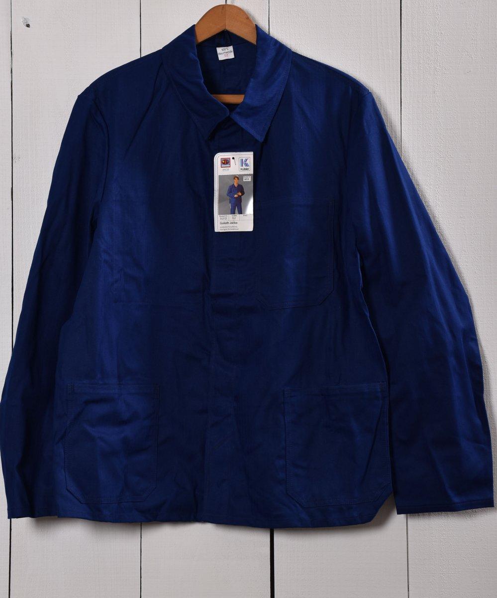 古着 Made in Germany Herringbone Deadstock Work Jacket | ドイツ製 ヘリンボーン デッドストック ワークジャケット  | ユーロワーク 古着 ネット 通販 古着屋グレープフルーツムーン