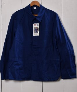 古着Made in Germany Herringbone Deadstock Work Jacket   ドイツ製 ヘリンボーン デッドストック ワークジャケット    ユーロワーク 古着のネット通販 古着屋グレープフルーツムーン
