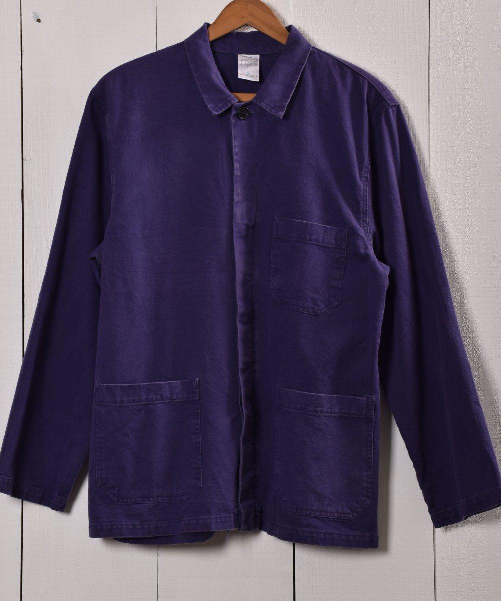 古着 Made in Italy Work Jacket   イタリア製  ワークジャケット   ユーロワーク 古着 ネット 通販 古着屋グレープフルーツムーン