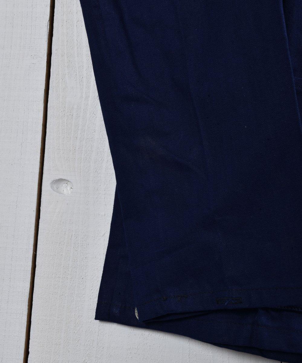 Made in Europe Herringbone Deadstock Work Jacket   ヨーロッパ製 ヘリンボーン デッドストック ワークジャケット   ヨーロッパワークサムネイル