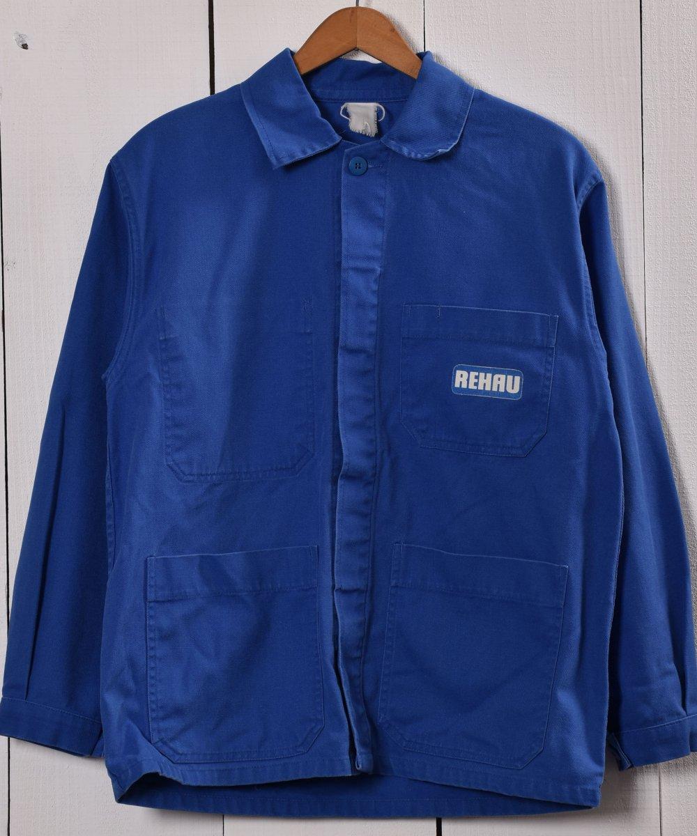 古着 Made in Europe  Work Jacket   ヨーロッパ製 ワークジャケット   ユーロワーク 古着 ネット 通販 古着屋グレープフルーツムーン