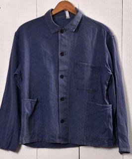 古着Made in Europe Cotton Twill Work Jacket   ヨーロッパ製 コットンツイル生地 ワークジャケット    ユーロワーク 古着のネット通販 古着屋グレープフルーツムーン