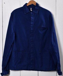 古着Made in Germany Cotton Twill Work Jacket | ドイツ製 コットンツイル生地 ワークジャケット  | ユーロワーク 古着のネット通販 古着屋グレープフルーツムーン