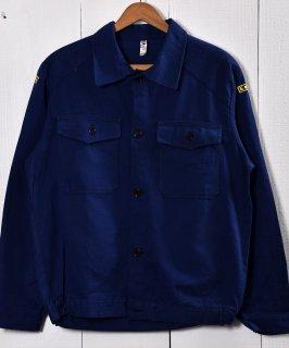 古着Made in Italy Cotton Twill Work Jacket | イタリア製 コットンツイル生地 ワークジャケット  | ユーロワーク 古着のネット通販 古着屋グレープフルーツムーン