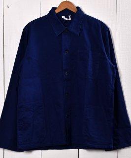古着Made in Germany Cotton Twill Work Jacket   ドイツ製 コットンツイル生地 ワークジャケット    ユーロワーク 古着のネット通販 古着屋グレープフルーツムーン