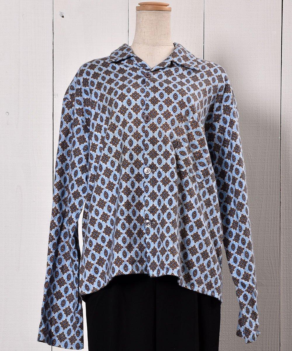 Small Pattern Pajamas Shirt|小紋柄パジャマシャツ サムネイル