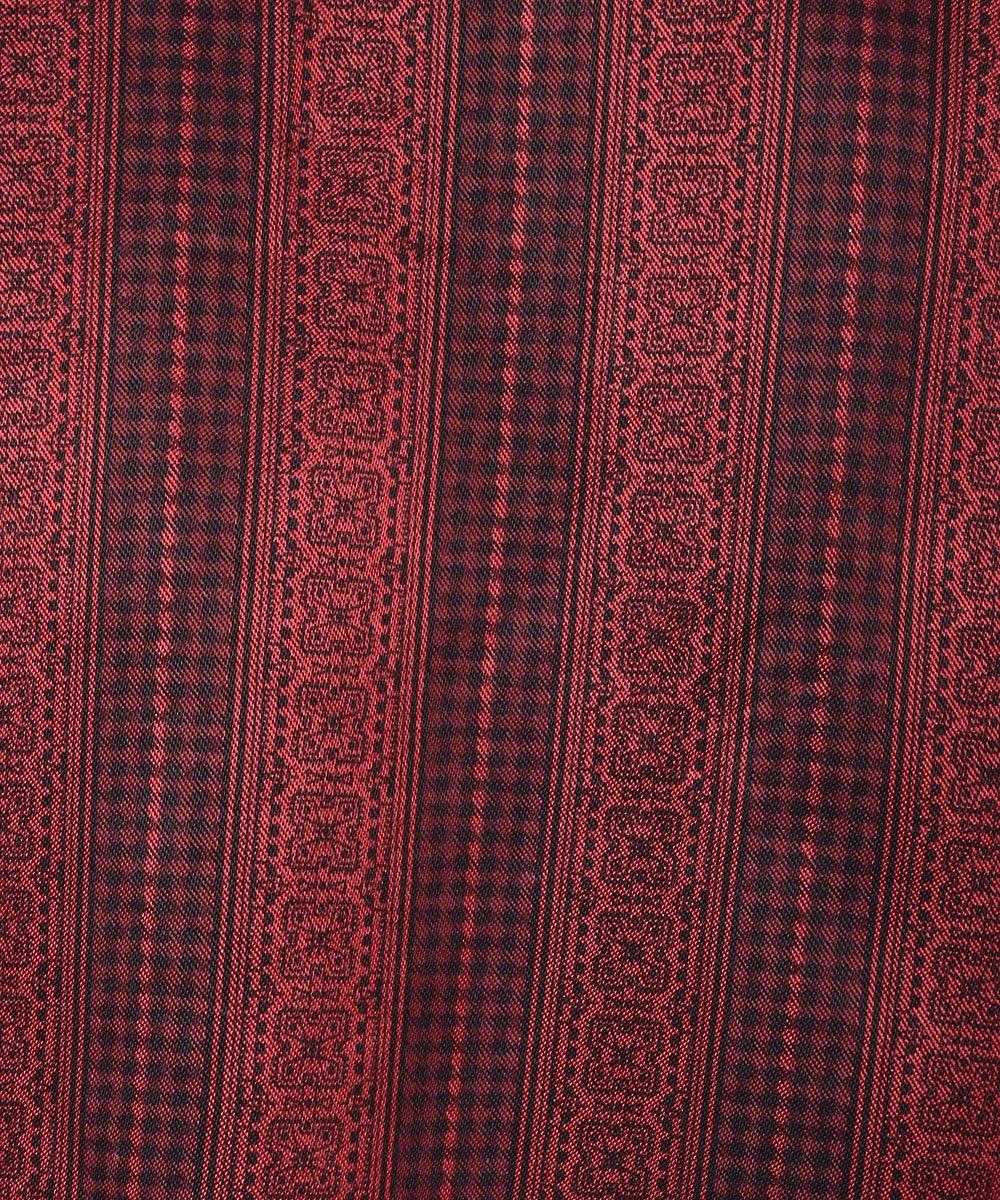 Stripe Small Mark Pattern Pajamas Shirt|小紋柄ストライプ パジャマシャツ サムネイル