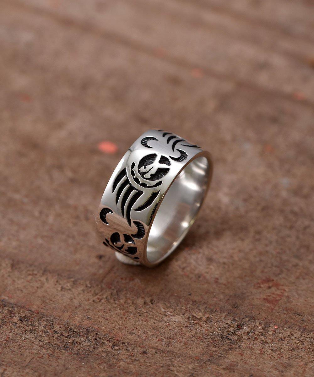 Silver Ring Bearhand Pattern | 「ベアハンド」モチーフ シルバーリングサムネイル