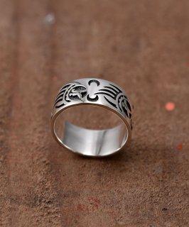 古着Silver Ring Bearhand Pattern | 「ベアハンド」モチーフ シルバーリング 古着のネット通販 古着屋グレープフルーツムーン