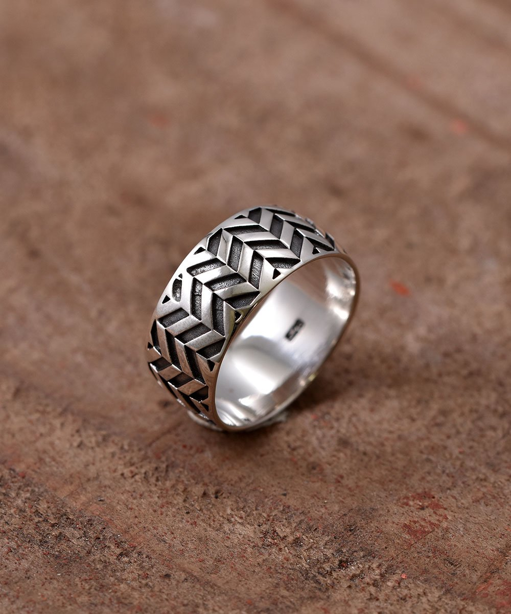 Silver Ring Arrow Feather | 矢羽根モチーフ シルバーリングサムネイル