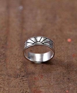 古着Silver Ring Sunrise |  サンライズ モチーフ シルバーリング 古着のネット通販 古着屋グレープフルーツムーン
