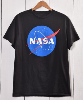 古着NASA Print T Shirt | ナサ プリント Tシャツ | ブラック系 古着のネット通販 古着屋グレープフルーツムーン