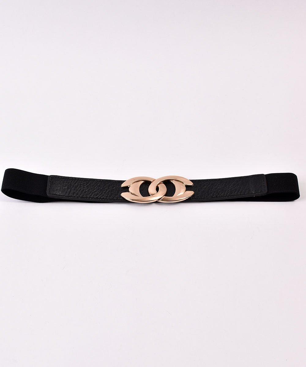Cross Ring Gom Belt| クロスリングバックル ゴムベルトサムネイル