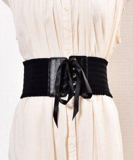 古着Lace UP Gom Belt| レースアップゴムベルト 古着のネット通販 古着屋グレープフルーツムーン