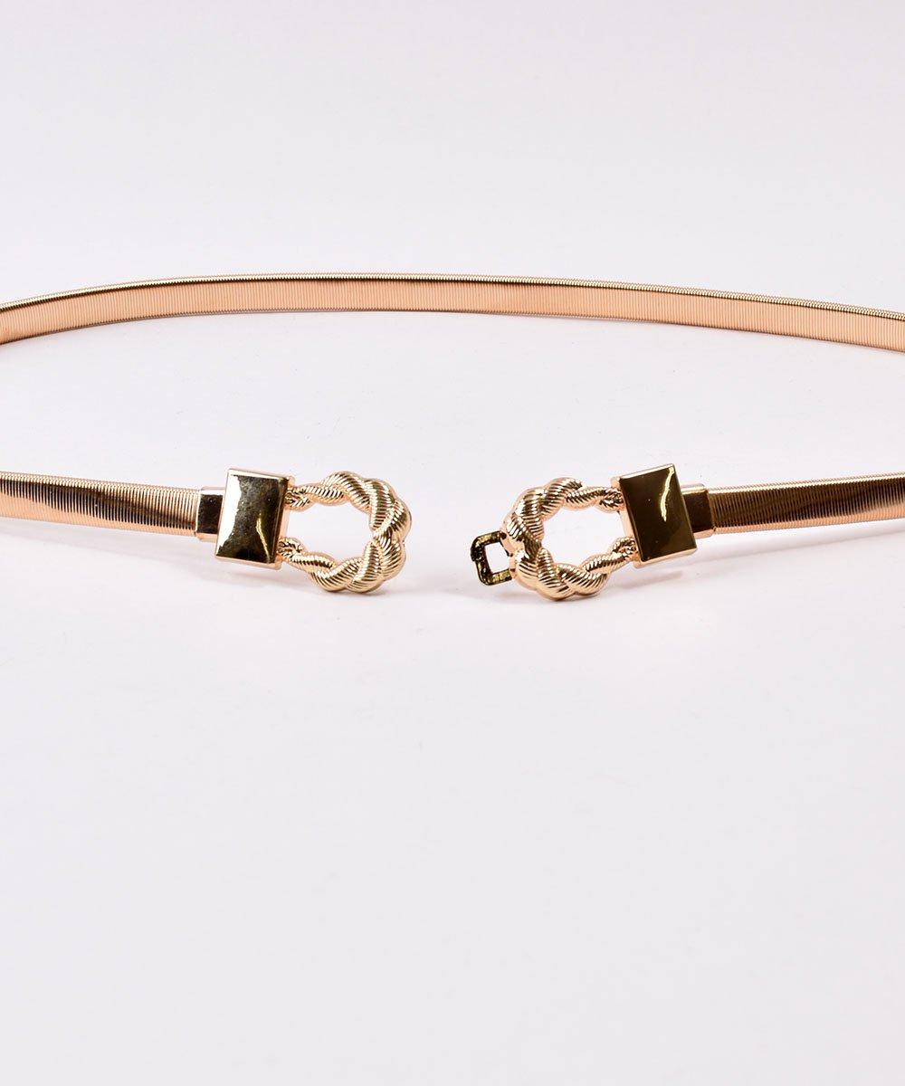 Belt Distortion Rope| ロープデザインベルト ゴールドサムネイル