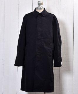 古着US Miritary Coat | ミリタリー ステンカラーコート | ブラック 古着のネット通販 古着屋グレープフルーツムーン