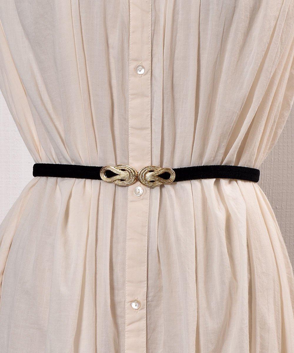 古着 【3Color Available】 Velour Rope Belt| ベロアロープベルト  ブラック 古着 ネット 通販 古着屋グレープフルーツムーン