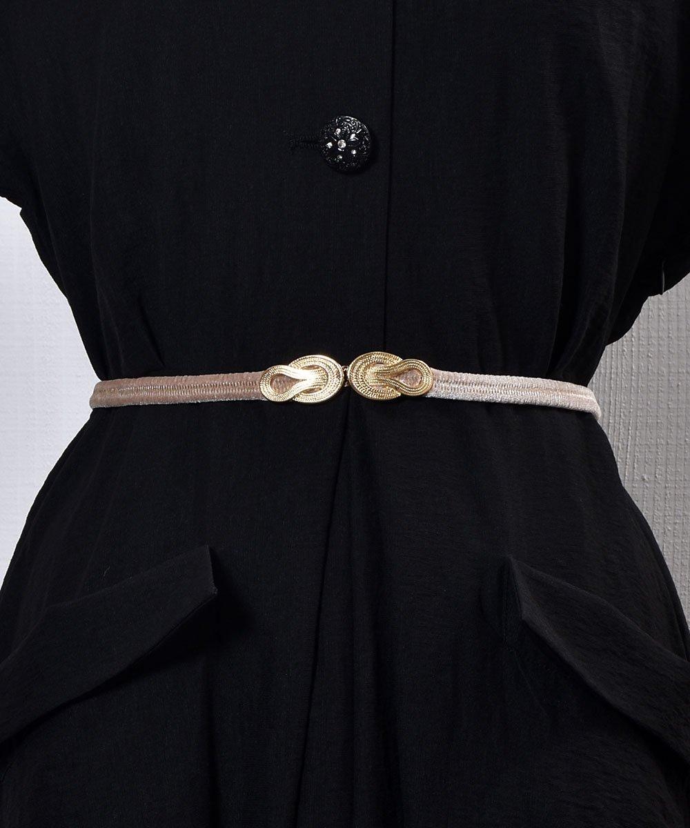 古着 【3Color Available】 Velour Rope Belt| ベロアロープベルト  ベージュ 古着 ネット 通販 古着屋グレープフルーツムーン