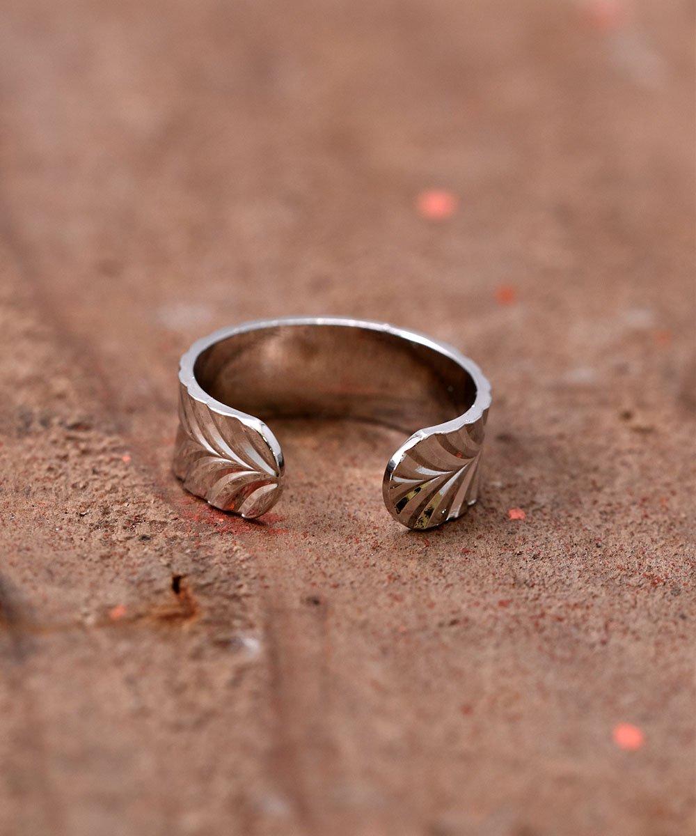 Engraving Ring | 波型削りモチーフリングサムネイル