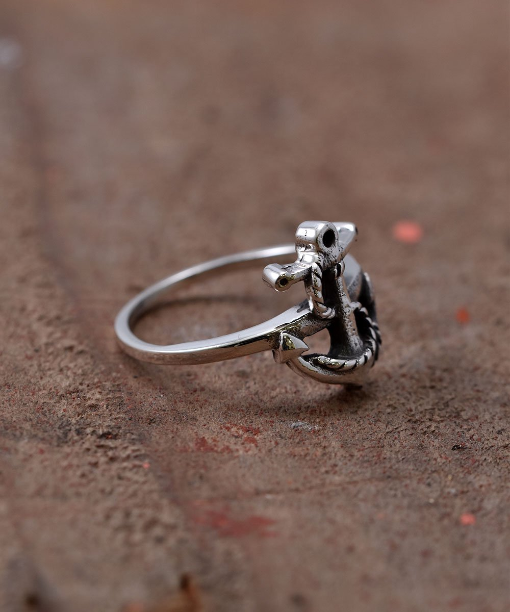 Silver Ring Anchor | アンカー モチーフ シルバーリングサムネイル